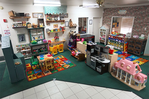 Decorative room of preschoolers without children at a Preschool & Daycare Serving Hesperia, CA